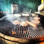 Hamburgers in Sausalito