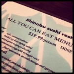 Shinobu Restaurant in Chicago