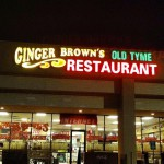 Ginger Brown's Old Tyme Restaurant & Bakery in Fort Worth, TX
