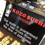 Kozo Sushi Kahala in Honolulu, HI