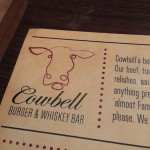 Cowbell Burger & Whiskey Bar in Charlotte