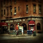 Smiling Pizzeria in Brooklyn