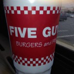 Five Guys in Charlottesville