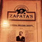 Zapata's Cantina and Mexican Restaurant in Charlotte, NC