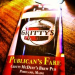 Gritty Mcduff's in Portland, ME