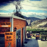 Howling Bluff Estate Winery in Penticton, BC