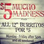 Mucho Burrito in Vancouver, BC