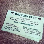 Golden City Restaurant in Lewiston
