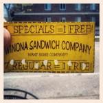 Winona Sandwich Company in Winona