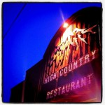 The High Country Restaurant and Saloon in Chama, NM