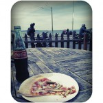 Slices on Alki in Seattle