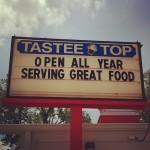 Tastee Top Grill in Cedar Lake