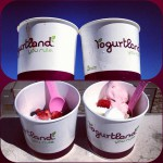 Yogurtland in Irvine