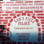 Sam's Pizza Palace in North Wildwood