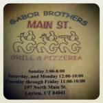 Gabor Brothers Main St Grill & Pizzeria in Layton