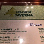 Lebanese Taverna Restaurant in Washington, DC