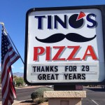 Tinos Pizza in Tucson