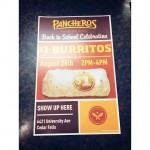 Panchero's Mexican Grill in Cedar Falls, IA
