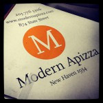 Modern Apizza Place in New Haven, CT