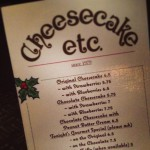 Cheesecake, Etc. in Vancouver