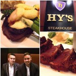 Hy's Steakhouse & Cocktail Bar in Winnipeg, MB
