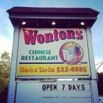 Wontons in Sanbornville