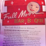 Full Moon Bar B Que in Tuscaloosa, AL