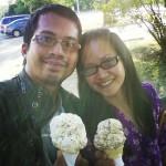Licks Ice Cream Patio in Winnipeg