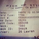 Pick Up Stix in La Habra, CA