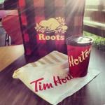Tim Horton's in Vancouver