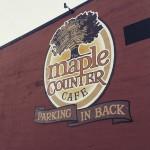 The Maple Counter Cafe in Walla Walla, WA