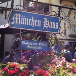Munchen Haus Bavarian Grill and Beer Garden in Leavenworth, WA