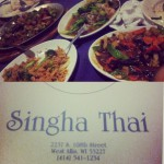 Singha Thai in Milwaukee, WI