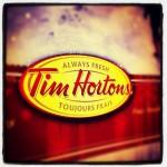 Tim Horton's in Charlottetown, PE