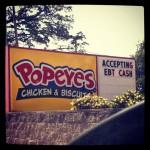Popeyes Restaurant in Montgomery