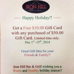 Iron Hill Bar & Grill in Sioux City