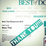 Beau Thai Mount Pleasant in Washington