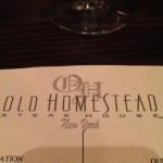 Old Homestead Steakhouse in New York, NY