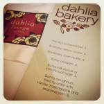 Dahlia Lounge in Seattle, WA