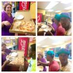 Jumbo Slice Pizza Kouzina Angelina's in Washington
