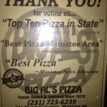 Big Al's Pizza in Manistee