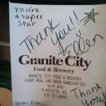 Granite City Food & Brewery in Wichita, KS