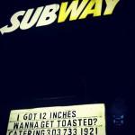 Subway Sandwiches in Denver