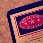 Big Country Pizza in Canyon Lake