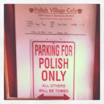 Polish Village Cafe in Hamtramck, MI