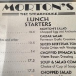 Morton's The Steakhouse in Coral Gables, FL