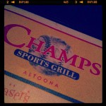 Champs Sports Grill in Altoona, PA