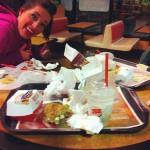 Burger King in Woodburn