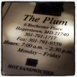 Plum The in Hagerstown