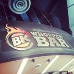 Burger King Whopper Bar in Orlando